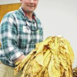 Yadkin County tobacco grower attends NC State Tobacco Short Course