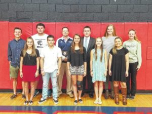 Forbush and Starmount name their student athletes of the month