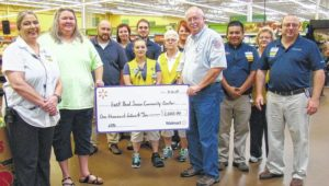 East Bend Senior Center receives funds through Walmart grant